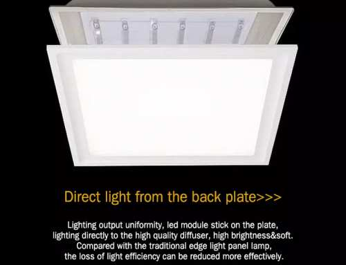 LED panel light classification: advantages and disadvantages of backlit panel and edge-lit panel