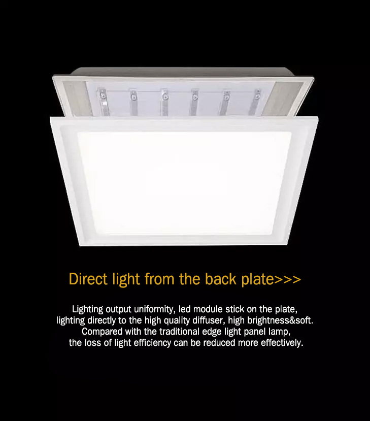 LED BACK-LIT PANEL LIGHT Direct Light panel lamp