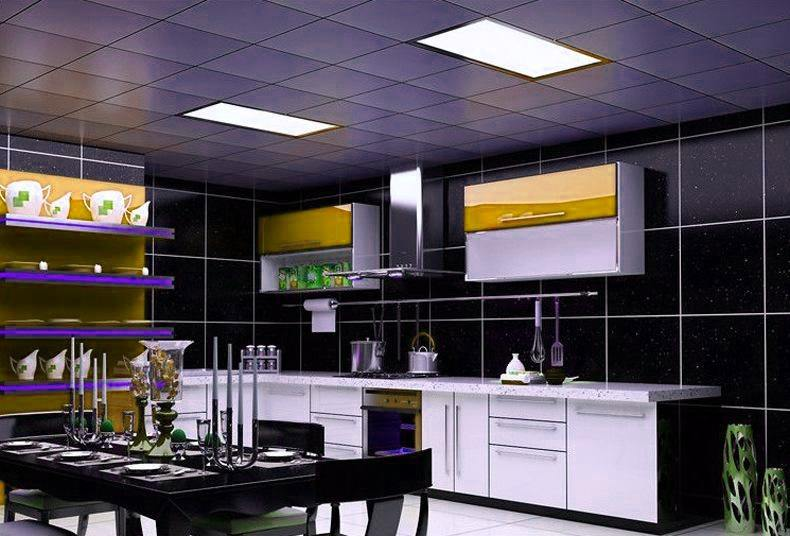 led panel light LED flat panel lighting case 5