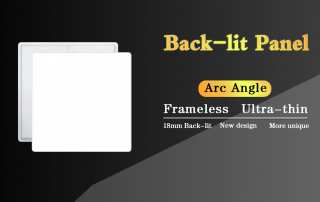 ultrathin backlit panel JAMSEM led panel light flat panel