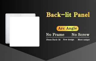 thinnest led panel Backlit panel JAMSEM LED flat panel light